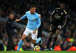 Danilo of Manchester City - Mandatory by-line: Matt McNulty/JMP - 10/02/2018 - FOOTBALL - Etihad Stadium - Manchester, England - Manchester City v Leicester City - Premier League