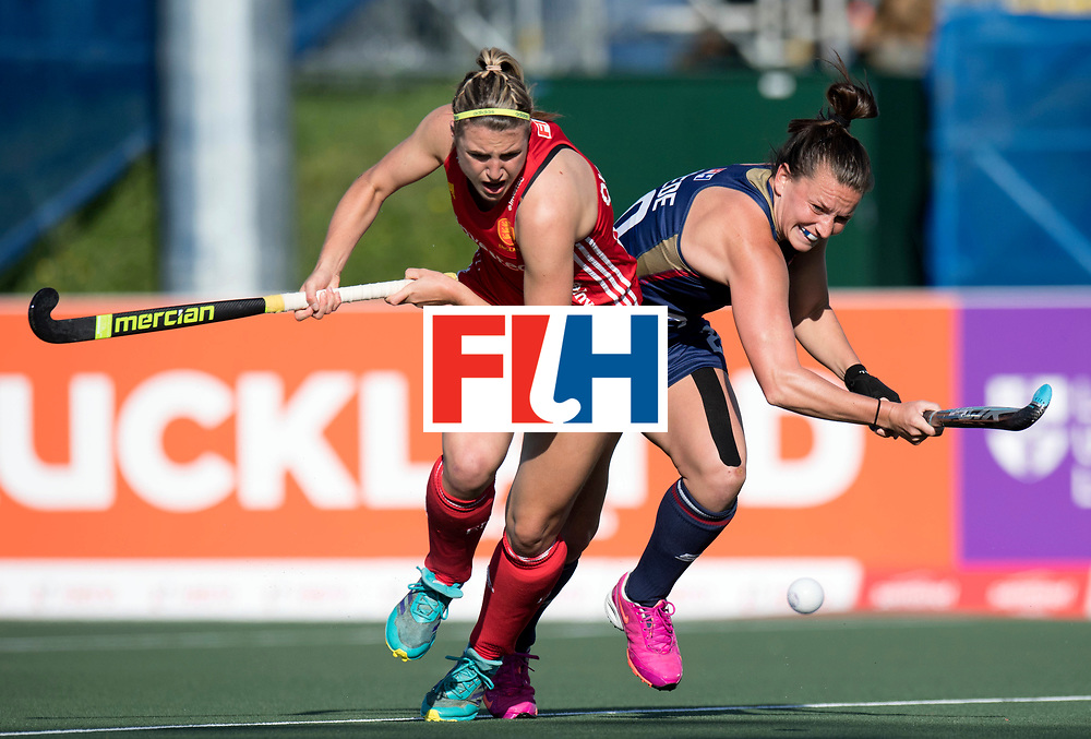 AUCKLAND - Sentinel Hockey World League final women<br /> Match id: 10304<br /> 15 USA v ENG (QF)<br /> Foto: Lily Owsley.<br /> WORLDSPORTPICS COPYRIGHT FRANK UIJLENBROEK