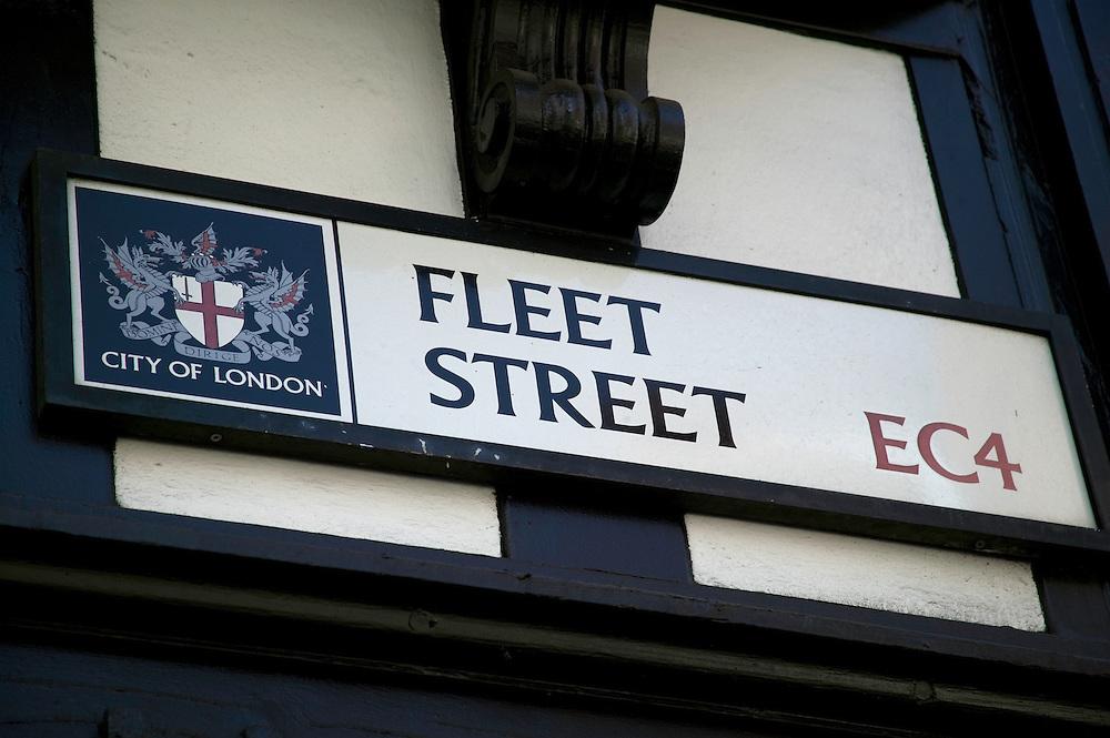 Fleet St sign