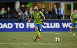March 1, 2018 - Seattle, Washington, U.S - Soccer 2018: Seattle Sounder CLINT DEMPSEY (2) in action as Santa Tecla FC visits the Seattle Sounders for a CONCACAF match at Century Link Field in Seattle, WA. (Credit Image: © Jeff Halstead via ZUMA Wire)