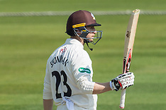 7 Apr 2017 - Surrey v Warwickshire Specsavers County Championship - Day one