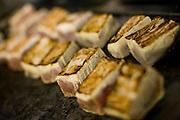 Belo Horizonte, 28 de janeiro de 2009...Festival Gastronomico Sabor e Saber, na foto detalhe de atum grelhado...The Gastronomic Festival Sabor e Saber, in this photo some grilled tuna...Foto: BRUNO MAGALHAES / NITRO