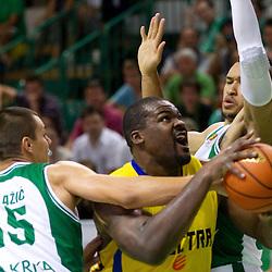 20111001: SLO, Basketball - ABA League, KK Krka vs Maccabi Electra Tel-Aviv