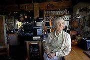 Legendary editor Judith Jones at her summer home in northern Vermont.