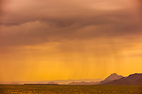 An approaching storm, Big Bend National Park, Texas USA.