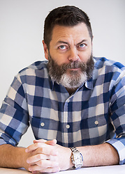 May 25, 2018 - Hollywood, CA, USA - Nick Offerman stars in the movie Hearts Beat Loud (Credit Image: © Armando Gallo via ZUMA Studio)