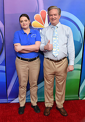 February 20, 2019 - Hollywood, California, U.S. - Lauren Ash and Mark McKinney on the carpet at the NBCUniversal Mid Season Press Junket at Universal Studios. (Credit Image: © Lisa O'Connor/ZUMA Wire)