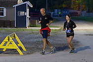 Augusta, New Jersey - Runners compete in races from 72 hours to 12 hours during the 3 Days at the Fair races at the Sussex County Fairgrounds on May 18, 2014.