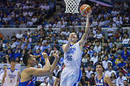 November 27, 2017 - Cubao, Quezon City, Philippines - Kai-Yan Lee escapes the defense of Japeth Aguilar of Gilas Pilipinas.Gilas Pilipinas defended their home against Chinese Taipei. Game ended at 90 - 83. (Credit Image: © Noel Jose Tonido/Pacific Press via ZUMA Wire)