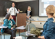 Photography &copy;Mara Lavitt<br /> May 16, 2018<br /> The Anlyan Center, Yale School of Medicine, New Haven.<br /> <br /> Medical Education Day.