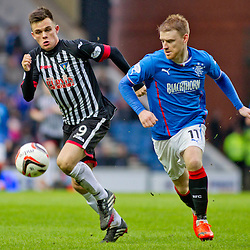 Rangers v Dunfermline | Scottish league One | 15 March 2014