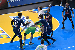 Dolenec Jure during 25th IHF men's world championship 2017 match between France and Slovenia at Accord hotel Arena on january 24 2017 in Paris. France. PHOTO: CHRISTOPHE SAIDI / SIPA / Sportida