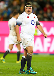 Jamie George of England- Mandatory by-line: Steve Haag/JMP - 23/06/2018 - RUGBY - DHL Newlands Stadium - Cape Town, South Africa - South Africa v England 3rd Test Match, South Africa Tour