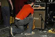 Guitarist causing feedback (band- Oceansize) Photo © Rob Watkins 2002