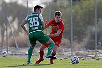 *Silvan Hefti* of FC St Gallen, *Jeremy Helmer* of AZ Alkmaar,
