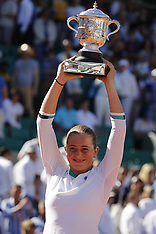 Jelena Ostapenko wins the French Open 09 June 2017