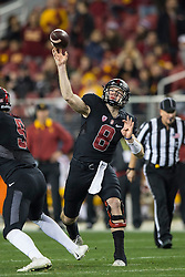 SANTA CLARA, CA - DECEMBER 05:  during the fourth quarter of the Pac-12 Championship game at Levi's Stadium on December 5, 2015 in Santa Clara, California. The Stanford Cardinal defeated the USC Trojans 41-22. (Photo by Jason O. Watson/Getty Images) *** Local Caption ***