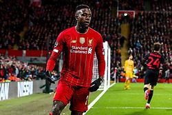 Divock Origi of Liverpool - Mandatory by-line: Robbie Stephenson/JMP - 11/03/2020 - FOOTBALL - Anfield - Liverpool, England - Liverpool v Atletico Madrid - UEFA Champions League Round of 16, 2nd Leg