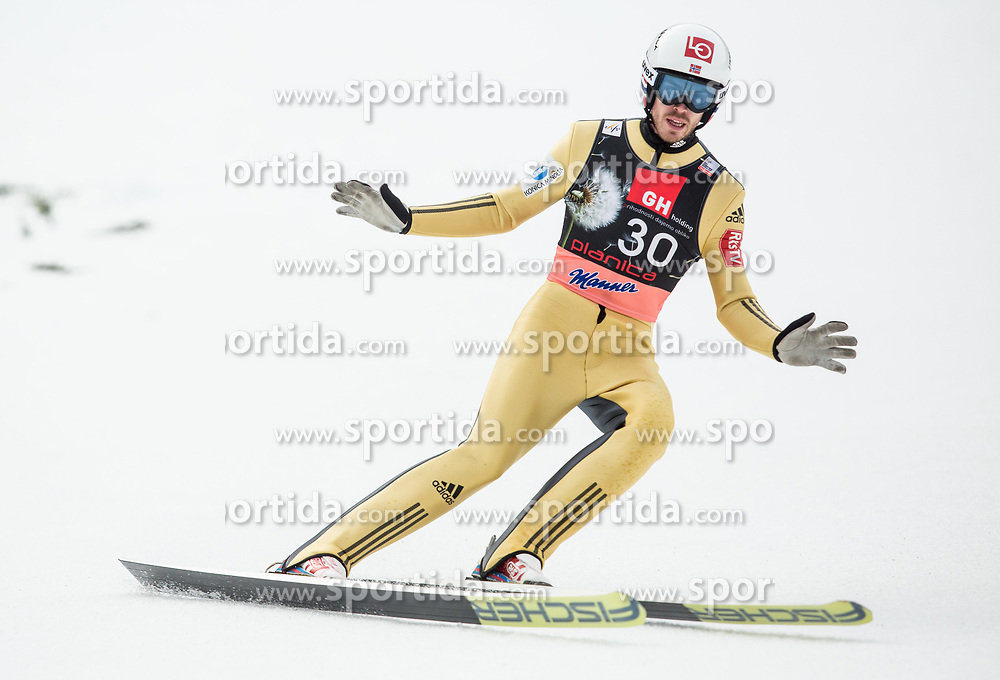 Andreas Stjernen of Norway during the Ski Flying Hill Individual Competition on Day Two of FIS Ski Jumping World Cup Final 2017, on March 24, 2017 in Planica, Slovenia. Photo by Vid Ponikvar / Sportida