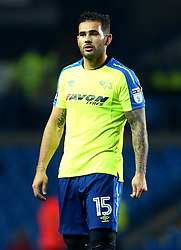 Bradley Johnson of Derby County - Mandatory by-line: Robbie Stephenson/JMP - 31/10/2017 - FOOTBALL - Elland Road - Leeds, England - Leeds United v Derby County - Sky Bet Championship