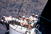 Evniki sailing in the  Corfu Challenge, day five.
