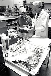 Medical lab, UK 1991