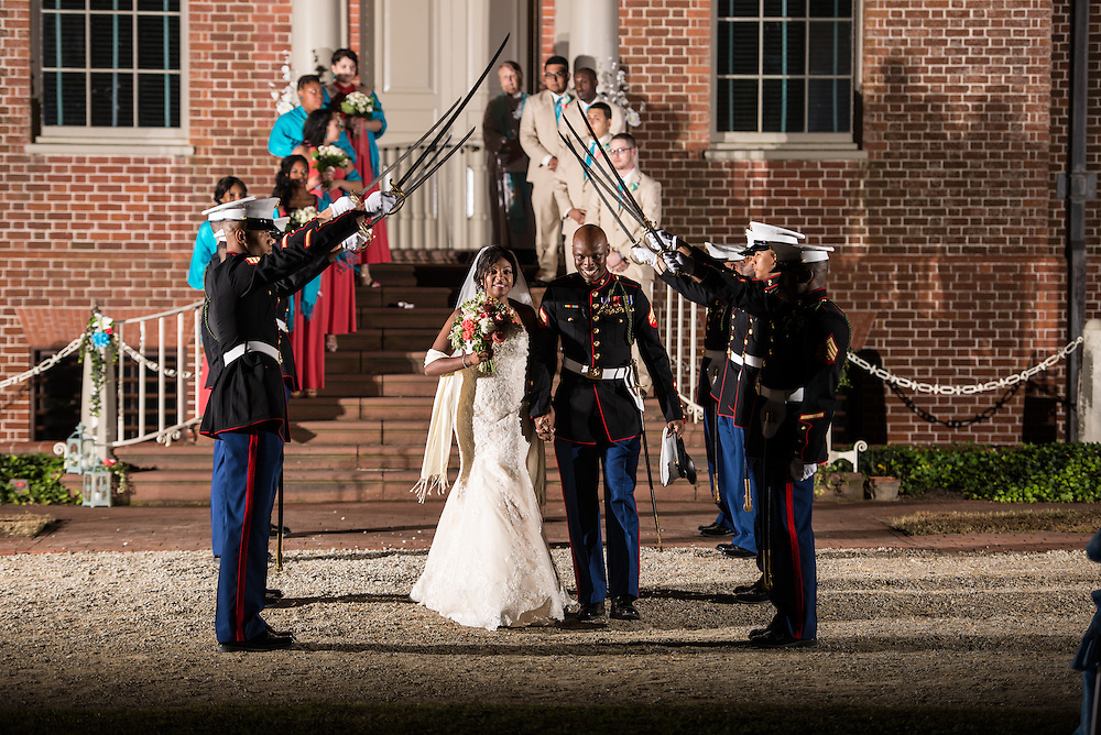Waggter and Jonai Wedding | Tryon Palace Weddings