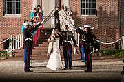 Waggter and Jonai Wedding | Tryon Palace Weddings