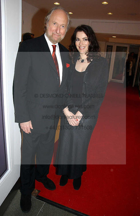 ED VICTOR & NIGELLA LAWSON at a party to celebrate the 90th birthday of Vogue magazine held at The Serpentine Gallery, Kensington Gardens, London on 8th November 2006.<br />