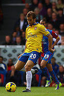Picture by David Horn/Focus Images Ltd +44 7545 970036<br /> 26/10/2013<br /> Mathieu Flamini of Arsenal during the Barclays Premier League match at Selhurst Park, London.