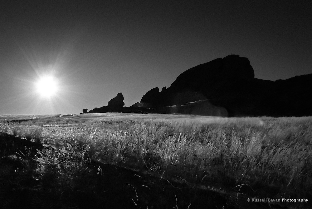 Inselberg of Mirabib at sunrise, Mirabib, Namibia