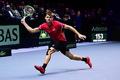 Davis Cup Final - France V Belgium - 26 Nov 2017