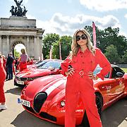 Carmen Jorda attend Cash & Rocket Photocall at Wellington Arch, on 6 June 2019, London, UK