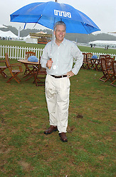 News reader NICHOLAS OWEN at the 2005 Cartier International Polo between England & Australia held at Guards Polo Club, Smith's Lawn, Windsor Great Park, Berkshire on 24th July 2005.<br /><br />NON EXCLUSIVE - WORLD RIGHTS
