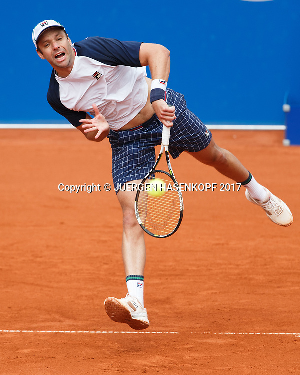 HORACIO ZEBALLOS (ARG)<br /> <br /> Tennis - BMW Open 2017 -  ATP  -  MTTC Iphitos - Munich -  - Germany  - 4 May 2017.