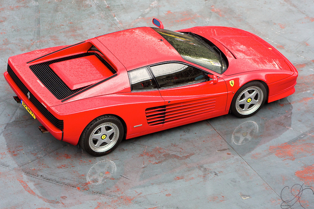 Some love it while others hate it - the Testarossa, perhaps one of the most iconic Ferrarri's ever made.