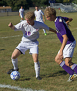 Warwick plays Goshen in a boys' soccer game on Sept. 12, 2014. Warwick won 2-1.