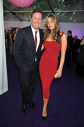 PIERS MORGAN and CELIA WALDEN at the 2009 Glamour Magazine Awards held in Berkeley Square, London on 2nd June 2009.