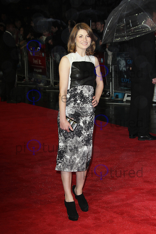 LONDON - OCTOBER 21: Jodie Whittaker attended the European Film Premiere of 'Great Expectations' at the Odeon Leicester Square, London, UK. October 21, 2012. (Photo by Richard Goldschmidt)