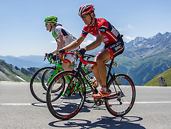 Dejan Bajt (SLO) of team Amplatz - BMC during the 166.8 km long 6th stage from Lienz to Kitzbuheler Horn at 67th Tour of Austria, on July 8, 2015, Austria. Photo by Urban Urbanc / Sportida.com