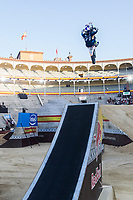 Spanish Fmx rider Dani Torres during qualifying Red Bull X-Fighters 2016 at Madrid. 22,06,2016. (ALTERPHOTOS/Rodrigo Jimenez)