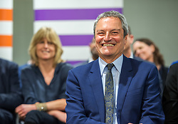 © Licensed to London News Pictures. 23/04/2019. Bristol, UK. GAVIN ESLER who is one of the Change UK's candidates for the EU elections, at the Change UK – The Independent Group holding their European election campaign launch at We The Curious in Bristol's Millennium Square. Photo credit: Simon Chapman/LNP