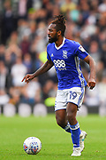 Birmingham City midfielder Jacques Maghoma (19) during the EFL Sky Bet Championship match between Derby County and Birmingham City at the Pride Park, Derby, England on 23 September 2017. Photo by Jon Hobley.