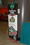 KELOWNA, CANADA - OCTOBER 14: Displays at the Kelowna Rockets game on October 14, 2016 at Prospera Place in Kelowna, British Columbia, Canada.  (Photo By Cindy Rogers/Nyasa Photography,  *** Local Caption ***