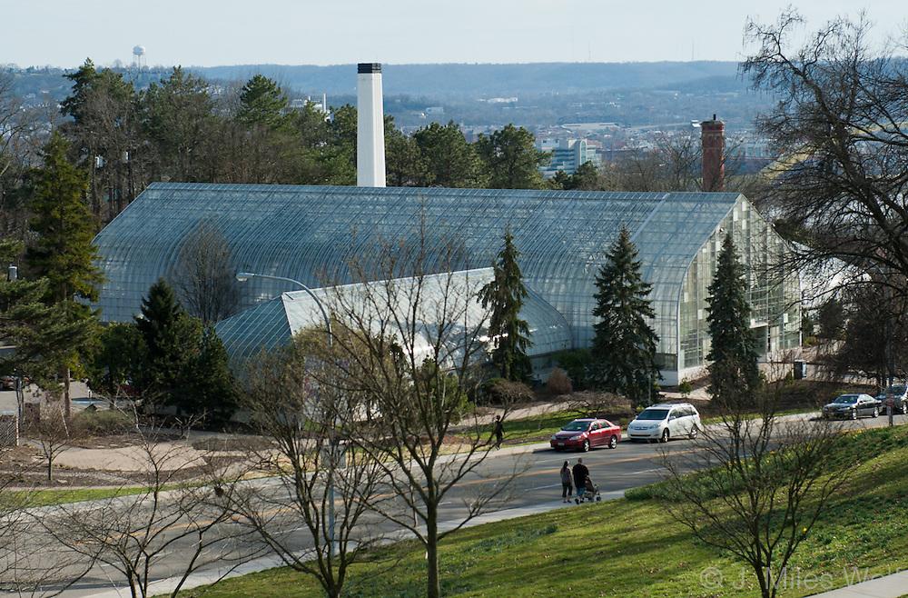 Krohn Conservatory of Eden Park in Cincinnati