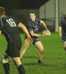 Westport RFC&rsquo;s David O&rsquo;Malley in action against Connemara in the Connacht Junior league,<br />