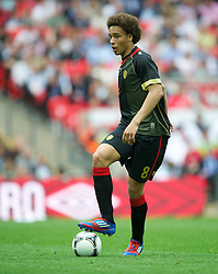 LONDON, ENGLAND - Saturday, June 2, 2012: Belgium's Axel Witsel in action against England during the International Friendly match at Wembley. (Pic by David Rawcliffe/Propaganda)