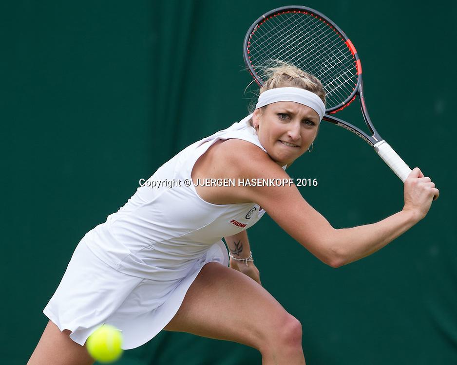 TIMEA BACSINSZKY (SUI)<br /> <br /> Tennis - Wimbledon 2016 - Grand Slam ITF / ATP / WTA -  AELTC - London -  - Great Britain  - 3 July 2016.