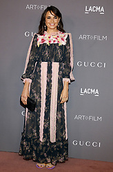 Mia Maestro at the 2017 LACMA Art + Film Gala held at the LACMA in Los Angeles, USA on November 4, 2017.