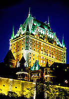 Hotel Fairmont Le Chateau Frontenac, Old Quebec City, Quebec, Canada